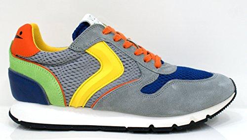 VOILE BLANCHE uomo sneakers basse LIAM SPOILER grigio-blu 41 Grigio-Blu