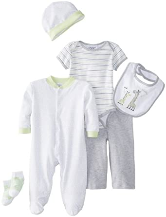 Amazon Com Kyle Amp Deena Baby Boys Newborn 6 Piece Layette