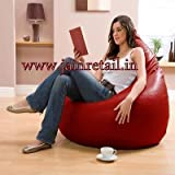 Repose Bean Bags Leatherette XX-Large Bean Bag -Multi (Cover only)