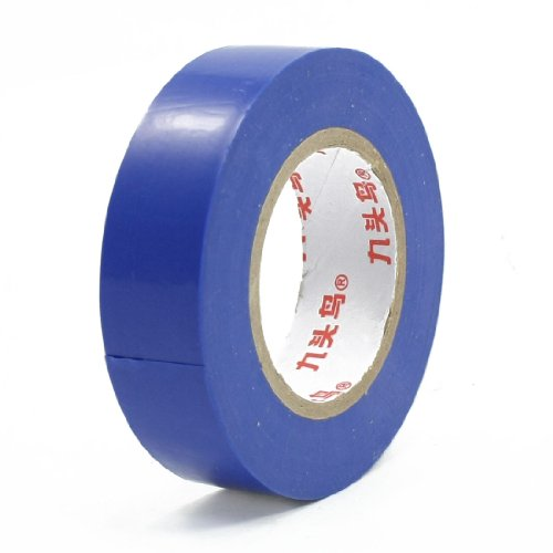 Insulation Adhesive Pvc Electrical Tape Roll Blue 14Meter Long