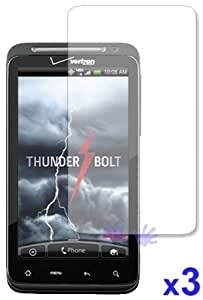 ThunderBolt Crystal Clear Screen Protector ( 3 Pack )