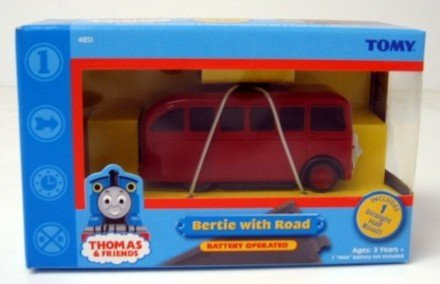 TOMY Thomas and Friends Motorized Battery Operated Bertie with Road - Buy TOMY Thomas and Friends Motorized Battery Operated Bertie with Road - Purchase TOMY Thomas and Friends Motorized Battery Operated Bertie with Road (Thomas & Friends, Toys & Games,Categories,Play Vehicles,Trains & Railway Sets)