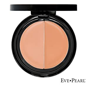Eve Pearl Dual Salmon Eye Concealer & Treatment ~ LIGHT / MEDIUM