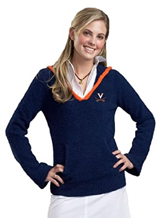 NCAA Virginia Cavaliers Kashwere U V-Neck Hoodie by Kashwere U