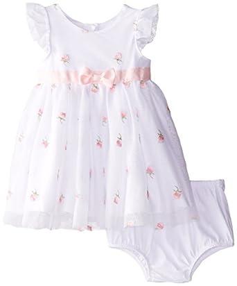 Amazon Little Me Baby Girls Infant Rose Mesh Dress