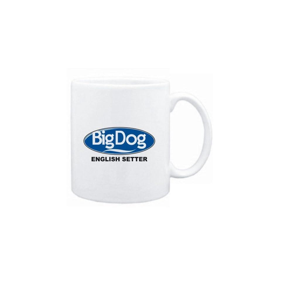 Mug White  BIG DOG  English Setter  Dogs