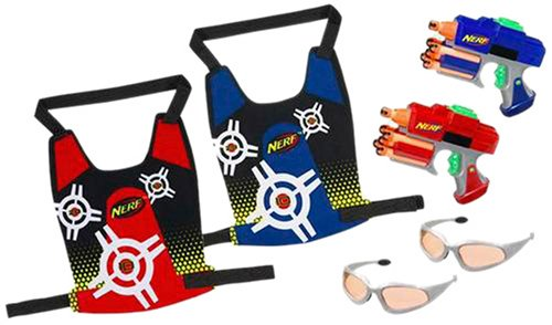 2-Player Nerf Dart Tag Strikefire Duel System
