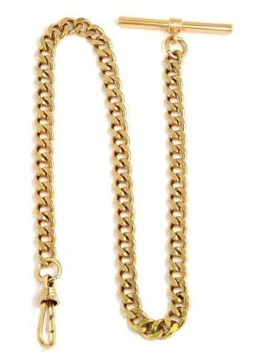 Desperado  Yellow Pocket Watch Chain with T bar