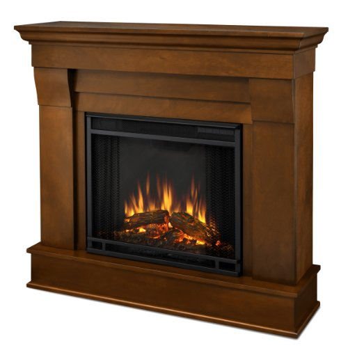 Real Flame Chateau 5910-X-E Electric Fireplace In Espresso - Mantel Only