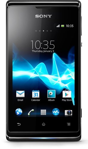 Sony Xperia E on T-Mobile Pay As You Go / Payg Mobile Phone - Black Black Friday & Cyber Monday 2014
