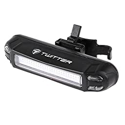 TWITTER Best USB bike light bicycle rear light rechargeable tailling light