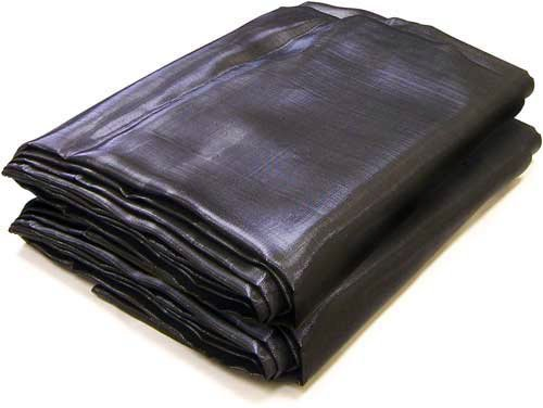 Weather Gard 6 X 10 Black Mesh UV Tarp Shade Canopy Patio Yard 6x10