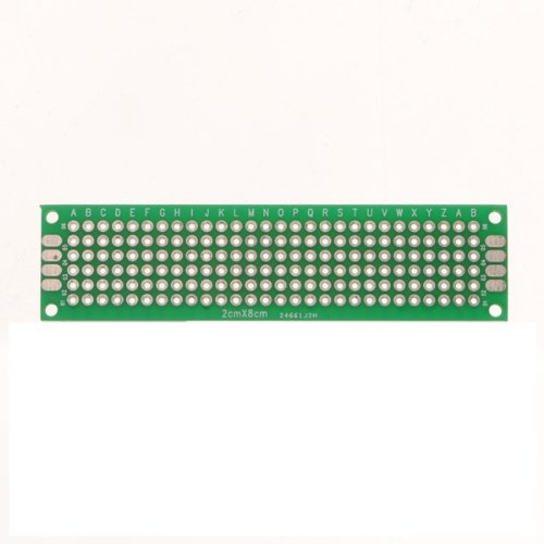 MECO(TM) 5pcs Double-Side Prototype PCB Universal Printed Circuit Board (20x80mm) (Pc Board Etching compare prices)
