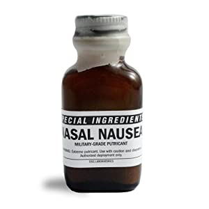 Special Ingredients - Prank & Revenge - Nasal Nausea - Military-Grade Stink Solution