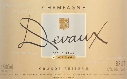 Veuve A. Devaux NV  Grand Reserve, Champagne 1.5 L
