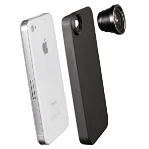 Walimex Fish-Eye Objektiv für Apple iPhone 4/4S Objektivbajonett