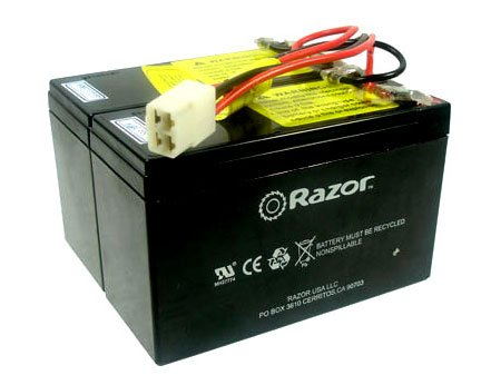 Razor E300 Battery on Razor 24 Volt 7ah Battery   E200  Versions 8 12    E300  Versions 5 10