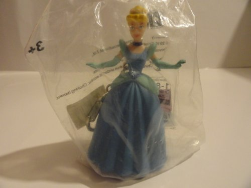 Disney Princess Cinderella in Blue Dress Key Chain