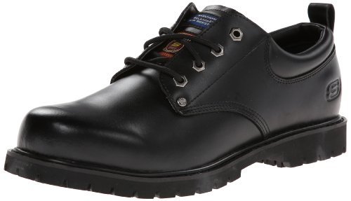 Skechers for Work Men's Cottonwood Fribble Slip Resistant Work Shoe