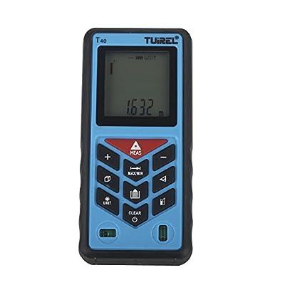 Laser Distance Measurer 131ft/40m Handheld Range Finder Meter Measuring Device Tool Tuirel T40 from Tuirel