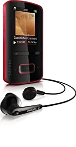 Philips GoGear ViBE MP3-Player, 4 GB, rot