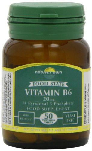 Natures Own 20mg Vitamin B6 50 Tablets