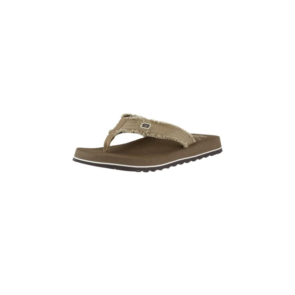 4df79b9f5993 Skechers Mens Fray Cotton Thong designer shoes