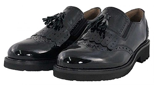 NeroGiardini - Slip-on brogue - Nero Giardini Donna - A616026D/100 - 40, Nero