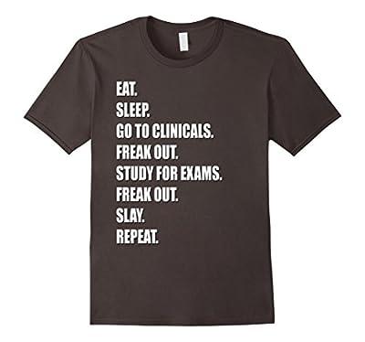 Funny Nurse Shirt #NurseLife RN LPN Clinicals Nursing School