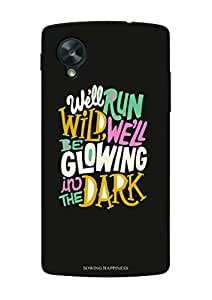 Sowing Happiness Printed Back Cover For Google Nexus 5
