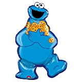 SESAME STREET COOKIE MONSTER JUMBO MYLAR PARTY BALLOON SUPER SHAPE