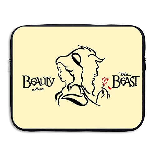 KathyB Beauty And The Beast Messenger Bag Black