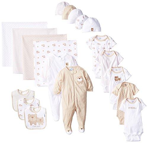 gerber-unisex-baby-newborn-adorable-bears-gift-bundle-set-brown-0-3-months-19-piece