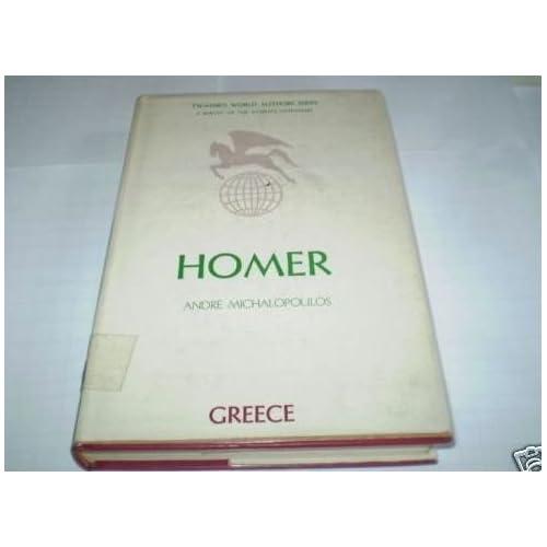 Homer (Twayne's World Authors Series)