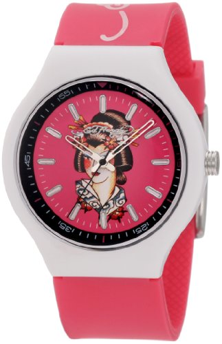 Ed Hardy Women's NE-PK Neo Pink Watch
