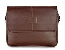 The Clownfish 13 inch / 14 inch Laptop and Tablet Bag - Macbook Pro, Macbook Air Laptop Bags (Brown)