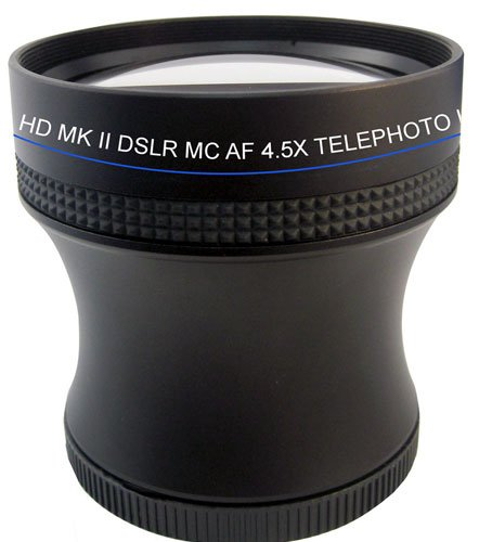 Professional 4.5X Super Telephoto Hd Lens Kit With Adapter For Pentax Mx1 Mx-1 Digital Camera