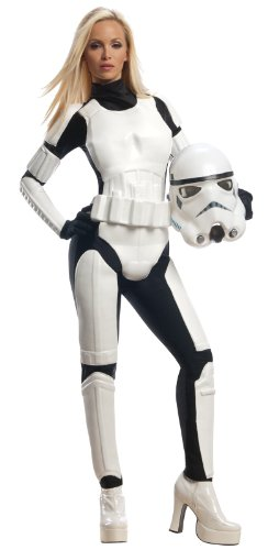 Star Wars Stormtrooper Costume スターウォーズストームトルーパー大人用コスチューム♪ハロウィン♪サイズ:Medium