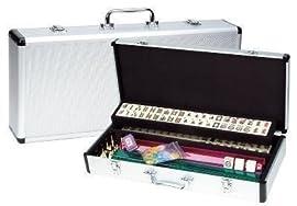 Western Mah jong in Aluminum Case (Oversized)