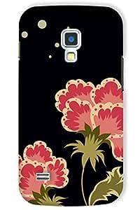 IndiaRangDe Printed Back Cover For Samsung Galaxy S4 mini I9190 I9190 Black