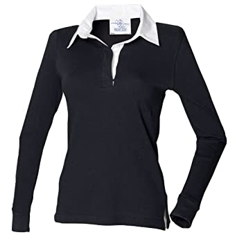 Front Row Womens Ladies Long Sleeve Plain