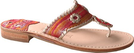 Jack Rogers Women's Navajo Society Low Heel Shoes,Red Society,11 M US
