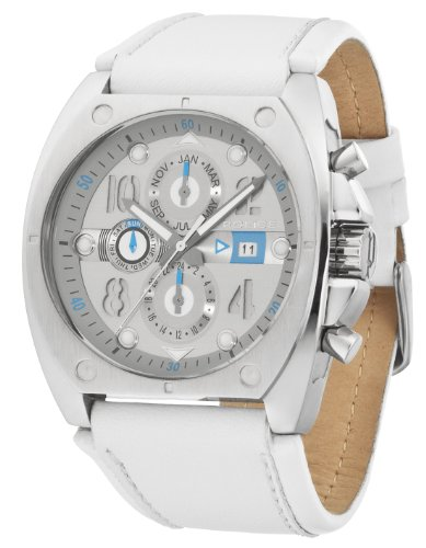 Police Men's White Dynamite Watch 12416JS/61