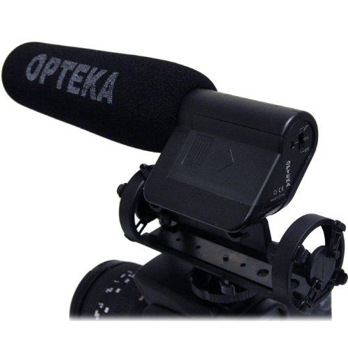 Opteka VM-100 Video Condenser Shotgun Microphone for Digital SLR Cameras & Camcorders