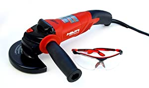 Hilti 00285937 DEG 500-D 5-Inch Angle Grinder Kit with Smart Power System and Dead-Man Switch