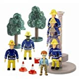 Fireman Sam Figure and Accessory Pack with Pole