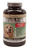 NaturVet SENIOR HIP & JOINT TR Formula for Dogs 40 Tablets