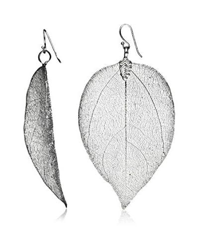 Ana Natural Leaves Pendientes HD081 Platino
