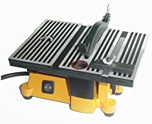 4 Mini Electric Table Saw with 2 Blades
