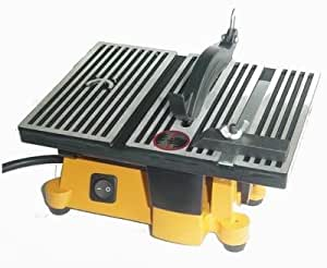 4 Mini Electric Table Saw With 2 Blades Power Table Saws